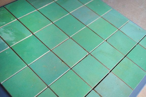 zelliges vert d'eau