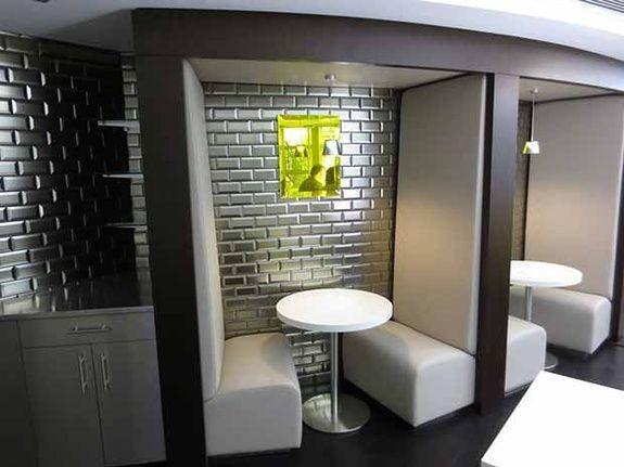 banquette restaurant  rennes tigier sofa
