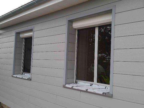bardage fenêtres