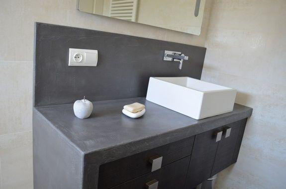 meuble effet beton comment faire effet beton magasin effet beton sanitaire design ambiance pierre carrelage