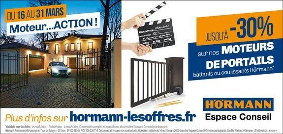 Promo motorisation portail