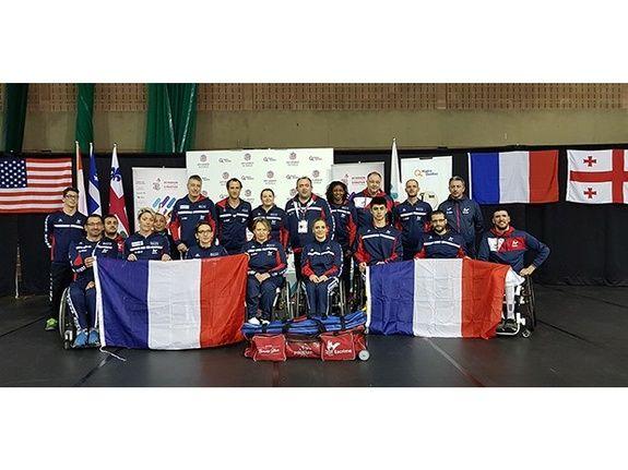 Sponsor de l'équipe de France d'Escrime handisport