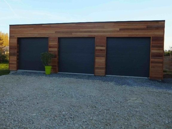 Garages bois extension