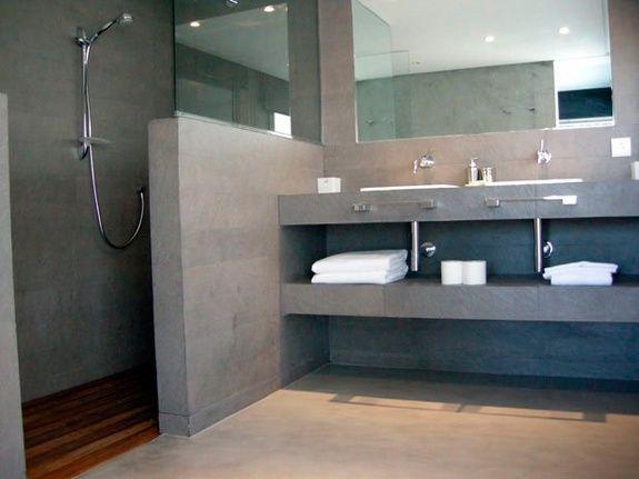 salle de bain beton ciré specialiste conseil ambiance pierre carrelage aubagne les paluds