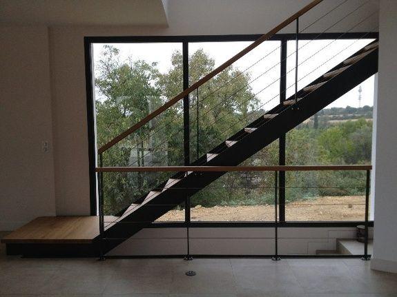 escalier verrière