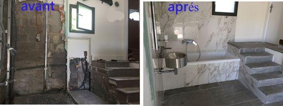 rénovation: avant - aprés