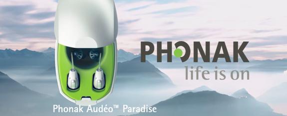 Appareils auditifs Phonak Paradise - Audition Sarah Bitbol - Saint-Maur-des-Fossés