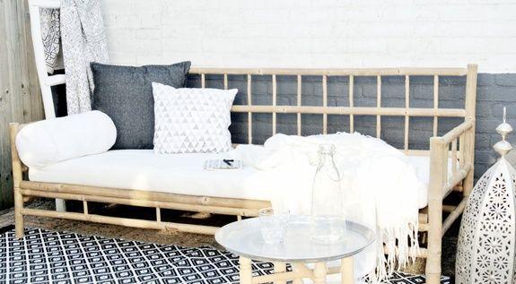 Sofa en Bamboo