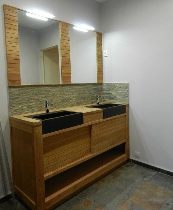 bois et vasques massifs