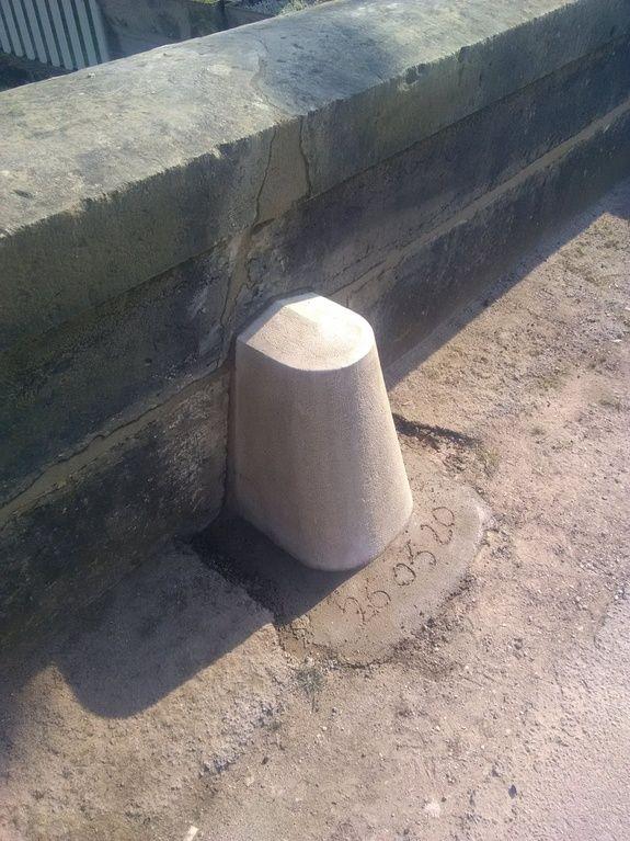 colonne renovée en pierre naturelle taille de pierre dijon