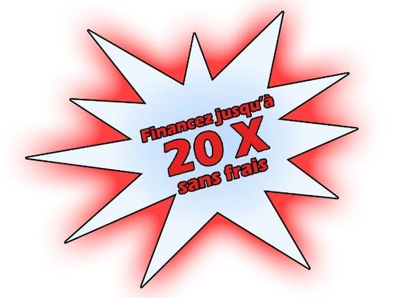 20 x sans frais 0% gratuit financement crédit Esprit d'ouvertures devis fenêtres PVC