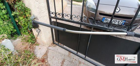 réparation bras portail