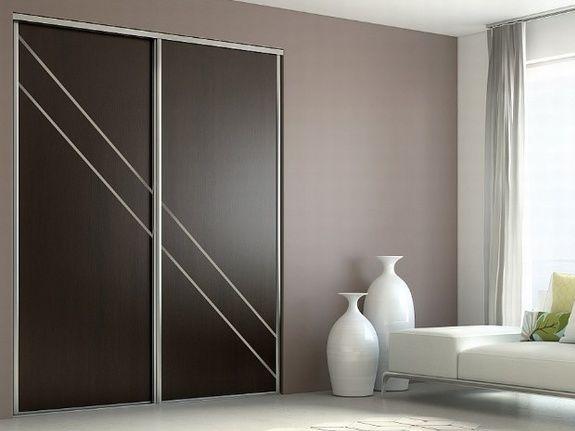 Dressing portes marron