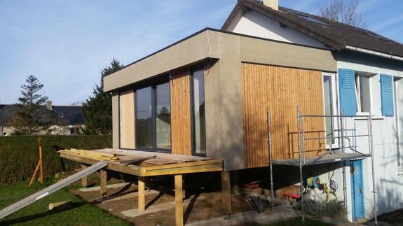 Après extension bois