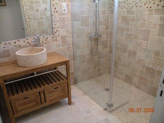 rénovation salle de bain tout travertin Frédéric Bodart, votre ...